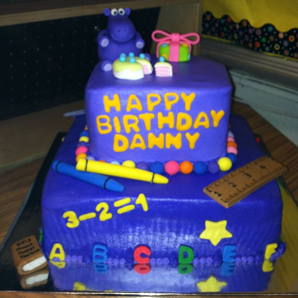 Getting Ready for Danny's Birthday on April 28