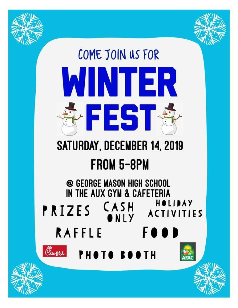 GM SCA Hosts Winter Fest!