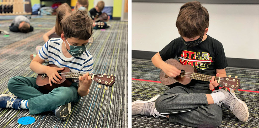 Dexterity with Ukuleles