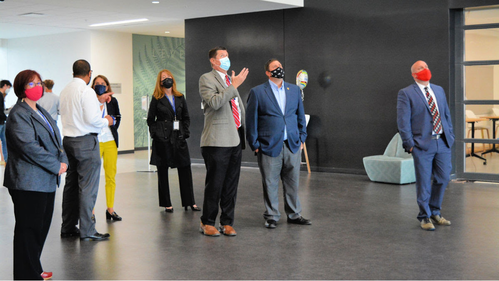 State Superintendent Tours New HS