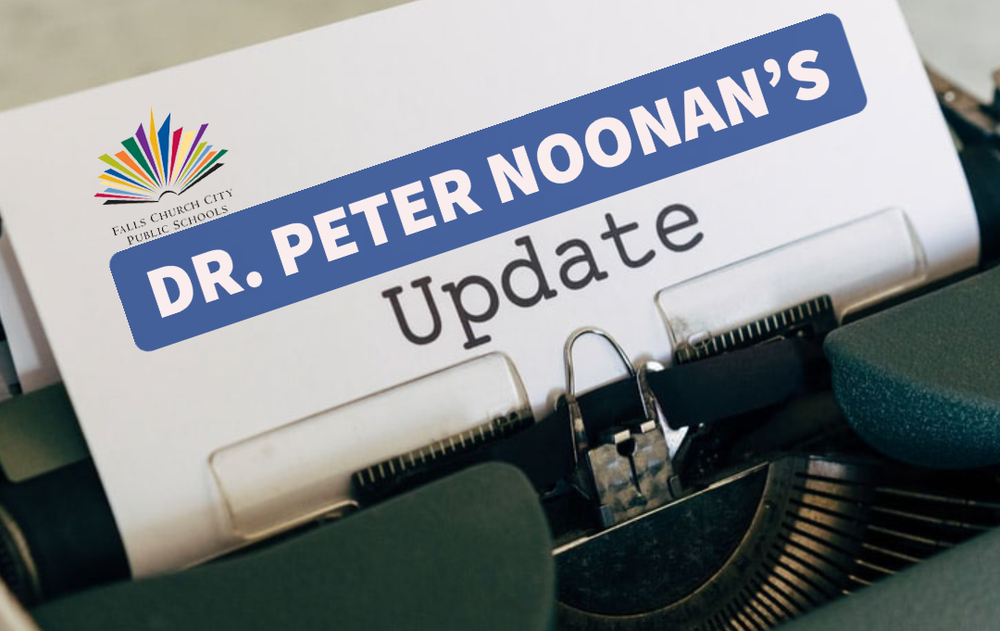 Dr. Noonan's Friday Update - April 30, 2021