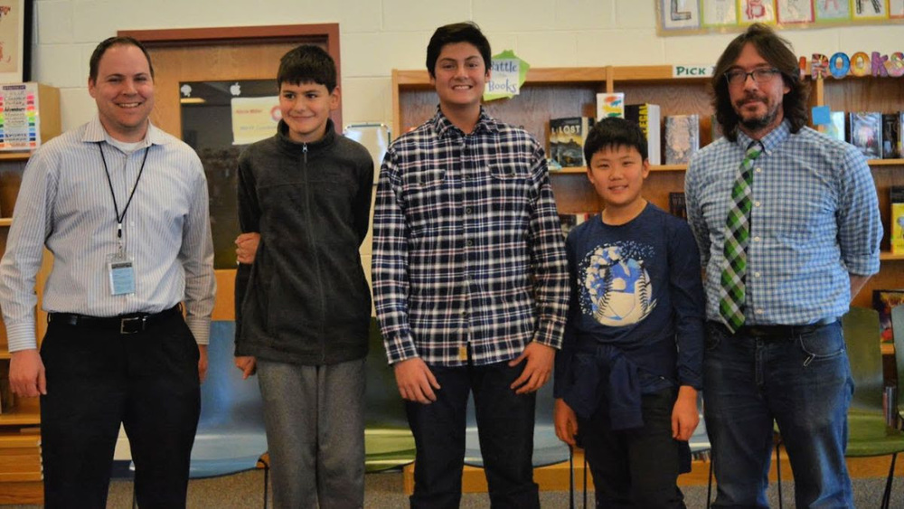 2020 Geo Bee Celebrates Top Three