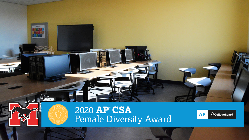 GMHS Earns AP Computer Sci Female Diversity Award