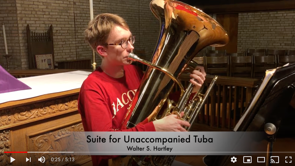 Music from the Heart: A Suite for Unaccompanied Tuba