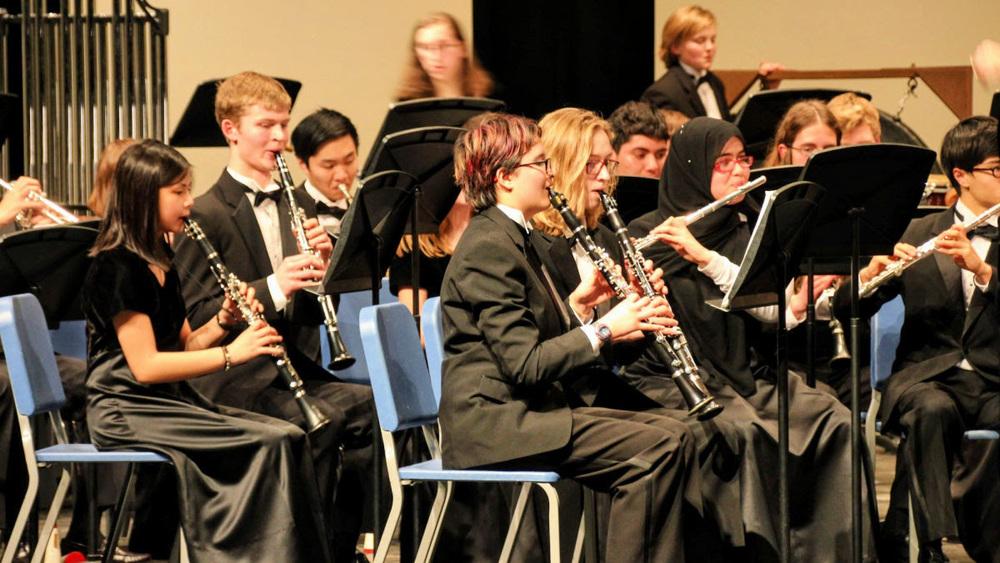 Wind Ensemble Earns Perfect Superior Scores