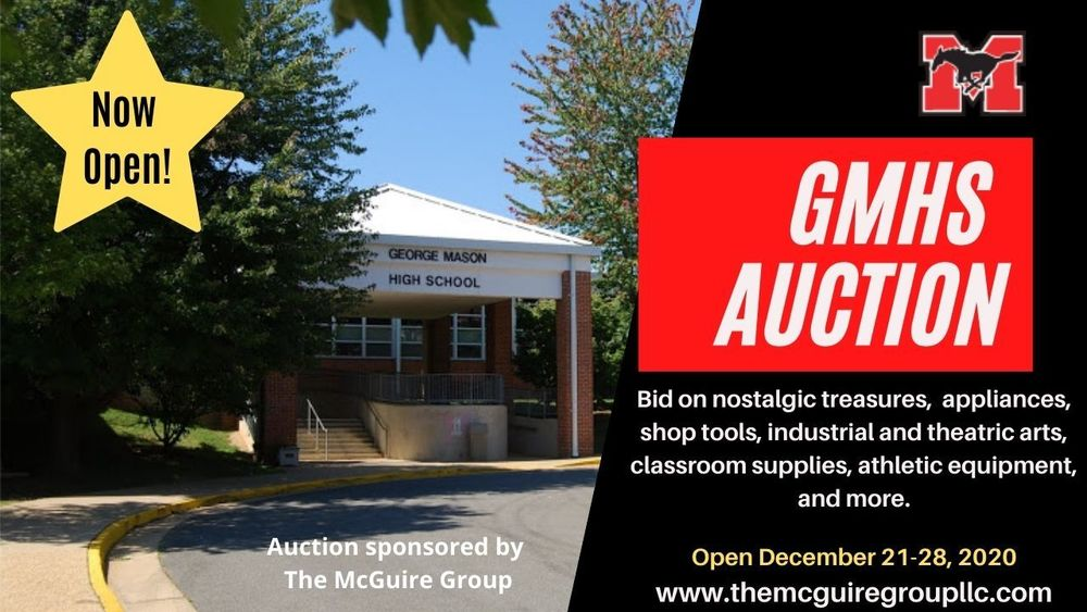GMHS Auction is Open