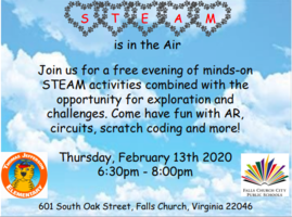 Join us for Steam Night 2020