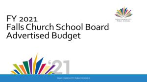 FY2021 Falls Church School Board Advertised Budget