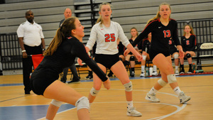 Volleyball Ends Year at Regionals