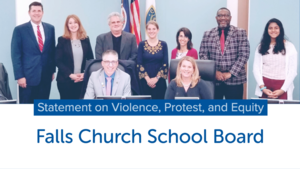 School Board Statement on Violence, Protest, and Equity