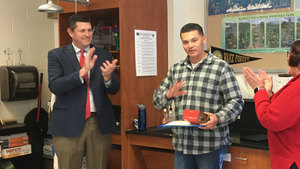 Sorto named Support Employee of the Year