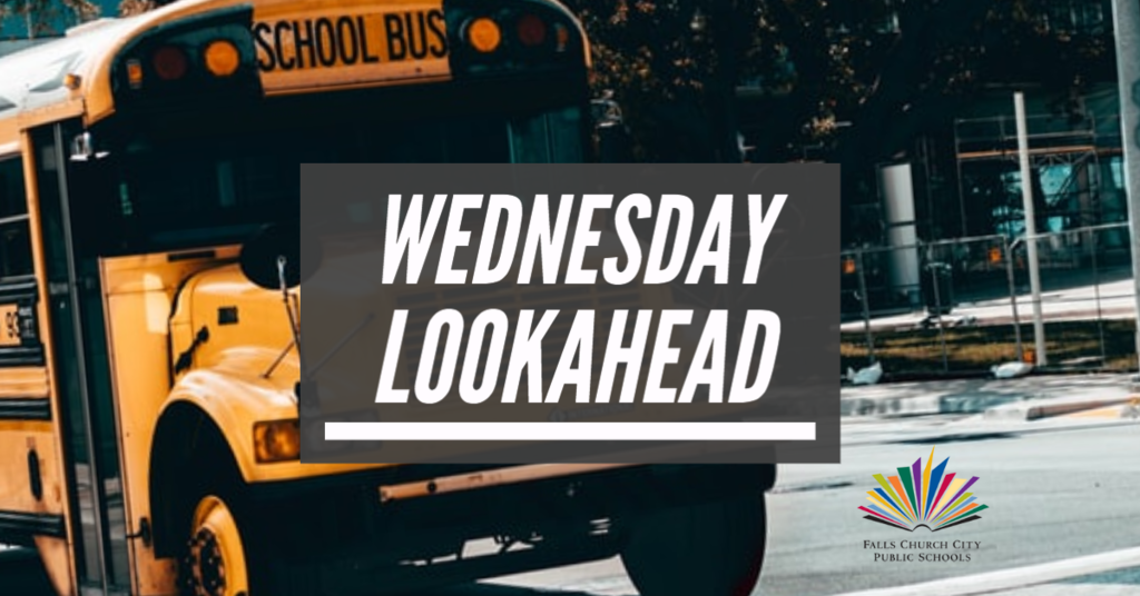 Wednesday Lookahead
