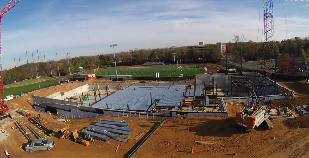 Construction of the New George Mason High School