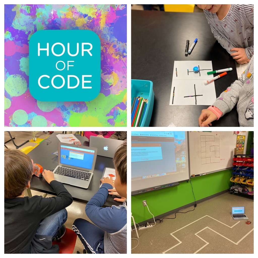 Hour of Code activites in STEAM Class