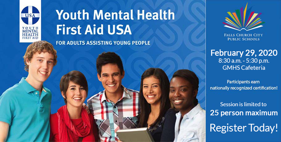 Youth Mental Health First Responder Training